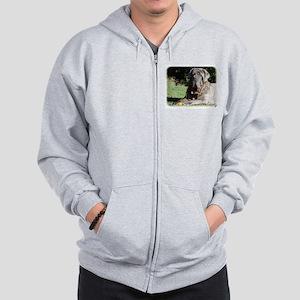 Neapolitan Mastiff AA018D-069 Zip Hoodie
