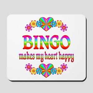 BINGO Happy Mousepad