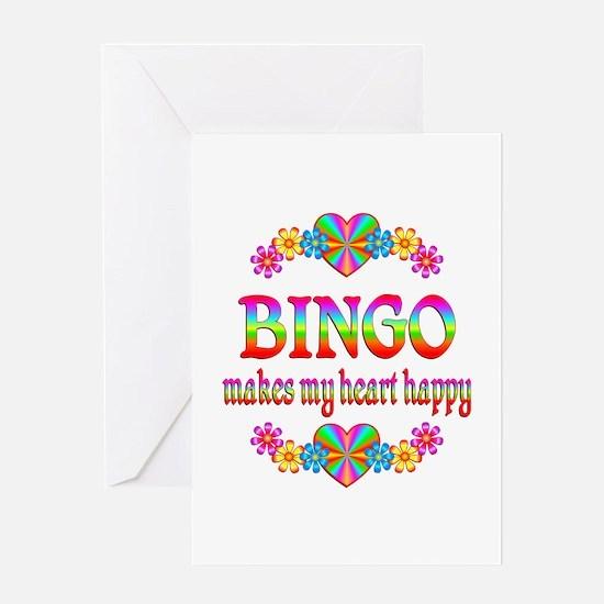 BINGO Happy Greeting Card