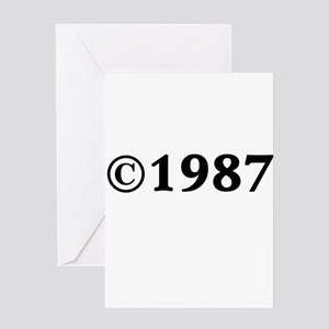 1987 Greeting Card