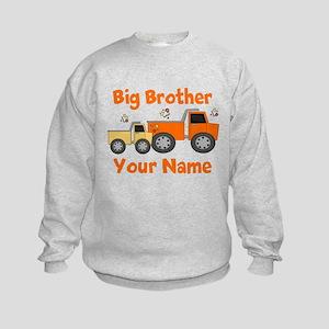 Big Brother Truck Kids Sweatshirt