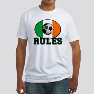 Irish Celtic Football Rules Fitted T-Shirt