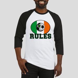 Irish Celtic Football Rules Baseball Jersey