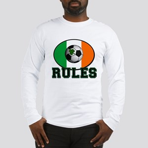 Irish Celtic Football Rules Long Sleeve T-Shirt