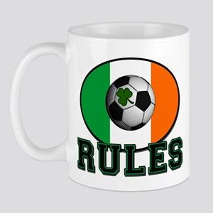 Irish Celtic Football Rules Mug