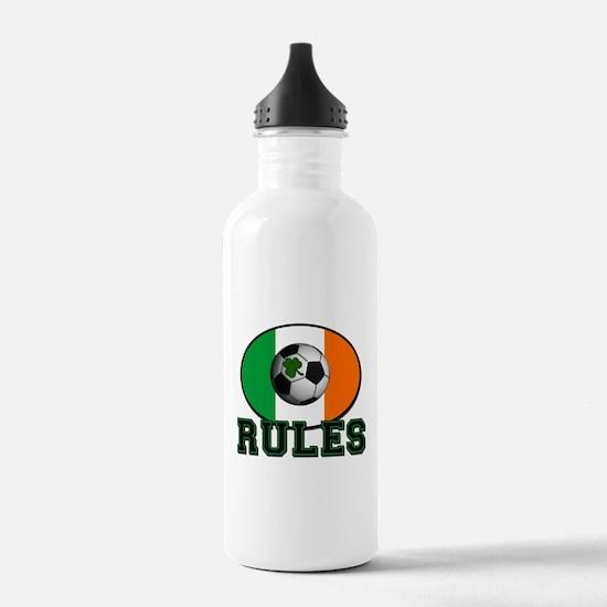 Irish Celtic Football Rules Water Bottle