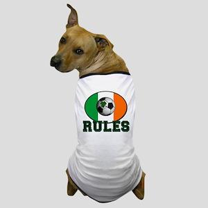 Irish Celtic Football Rules Dog T-Shirt
