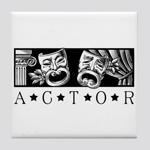 Classical Actor Tile Coaster