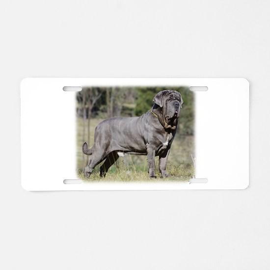 Neapolitan Mastiff AA021D-045 Aluminum License Pla