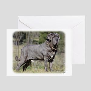 Neapolitan Mastiff AA021D-045 Greeting Card