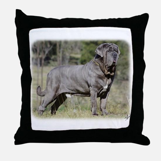 Neapolitan Mastiff AA021D-045 Throw Pillow