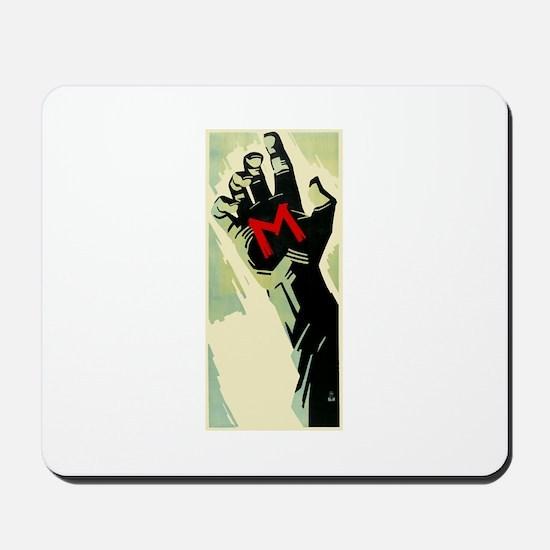 Fritz Lang's M Mousepad