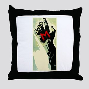 Fritz Lang's M Throw Pillow