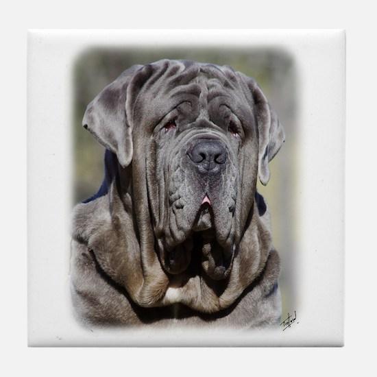 Neapolitan Mastiff AA021D-048 Tile Coaster