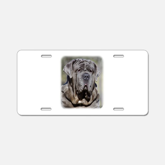 Neapolitan Mastiff AA021D-048 Aluminum License Pla