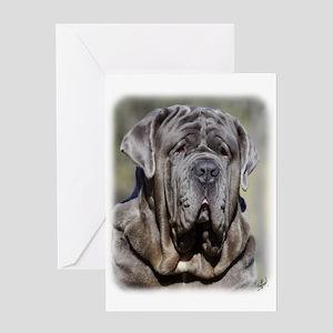 Neapolitan Mastiff AA021D-048 Greeting Card