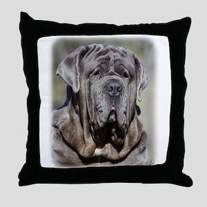 Neapolitan Mastiff AA021D-048 Throw Pillow