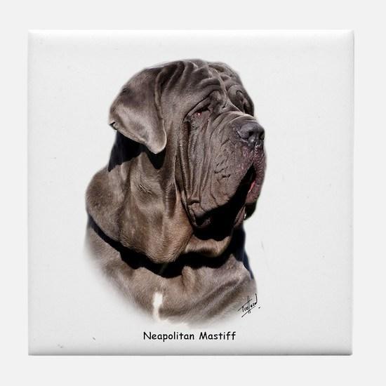Neapolitan Mastiff 9Y393D-045 Tile Coaster