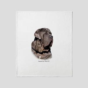 Neapolitan Mastiff 9Y393D-045 Throw Blanket