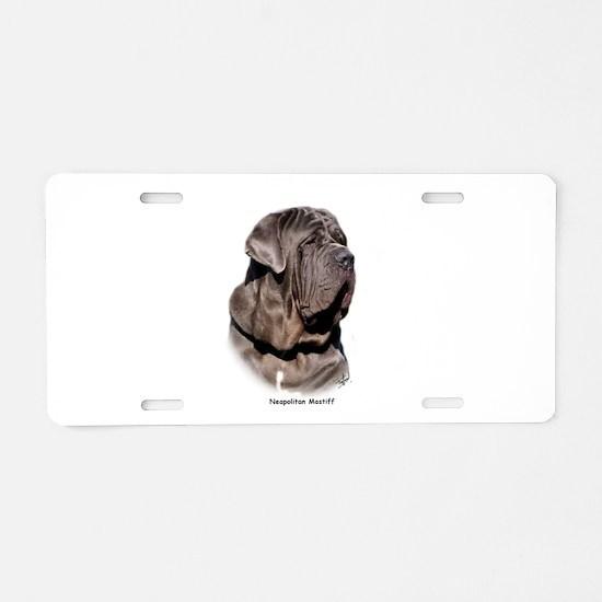 Neapolitan Mastiff 9Y393D-045 Aluminum License Pla