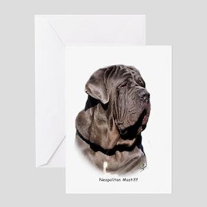 Neapolitan Mastiff 9Y393D-045 Greeting Card