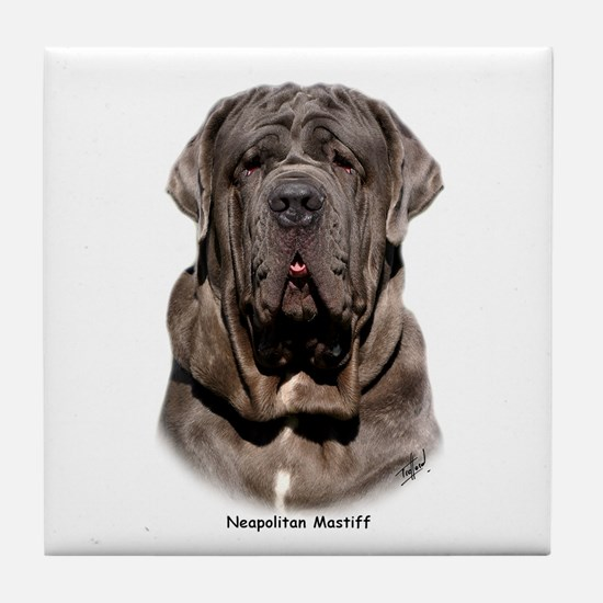 Neapolitan Mastiff 9Y393D-047 Tile Coaster