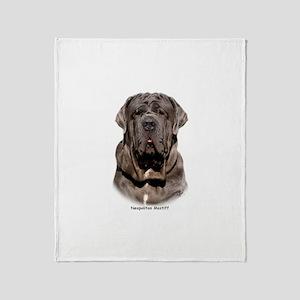 Neapolitan Mastiff 9Y393D-047 Throw Blanket
