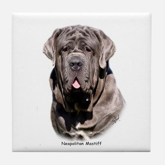 Neapolitan Mastiff 9Y393D-053 Tile Coaster