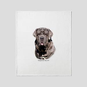 Neapolitan Mastiff 9Y393D-053 Throw Blanket