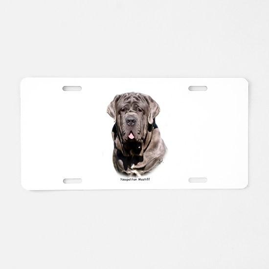 Neapolitan Mastiff 9Y393D-053 Aluminum License Pla