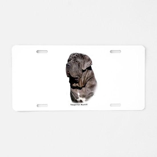 Neapolitan Mastiff 9Y393D-061 Aluminum License Pla