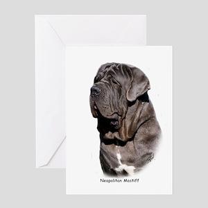 Neapolitan Mastiff 9Y393D-061 Greeting Card