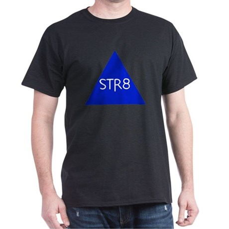 Str8 Black T-Shirt