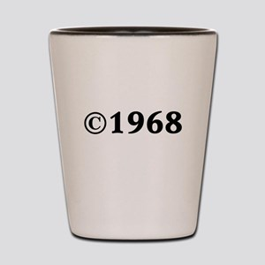 1968 Shot Glass