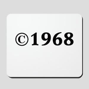 1968 Mousepad