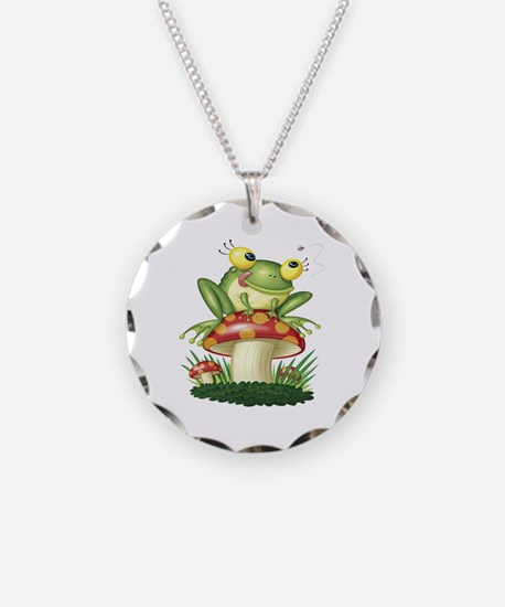 Frog & Toad Stool Necklace