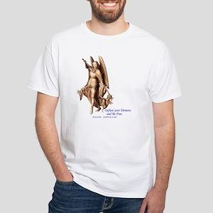 Archangel Michael - White T-Shirt