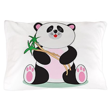 Panda Bear Pillow Case