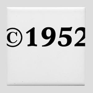 1952 Tile Coaster