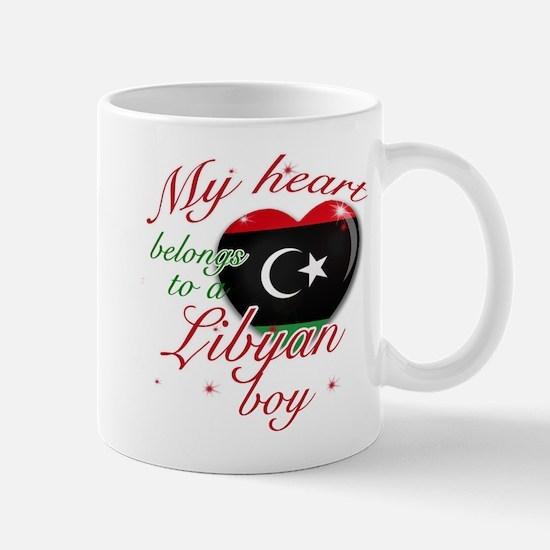 My heart belongs to a Libyan boy Mug
