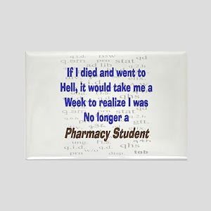 Pharmacist Humor Rectangle Magnet