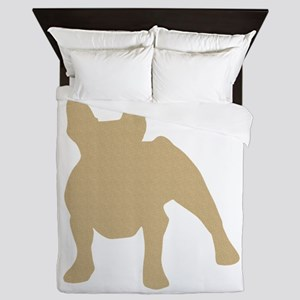 French Bulldog Queen Duvet