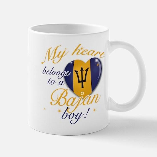 My heart belongs to a Bajan boy Mug
