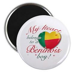 My heart belongs to a Beninois boy Magnet