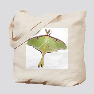 Super Green Moth Tote Bag