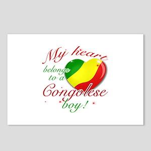 My heart belongs to a Congolese boy Postcards (Pac