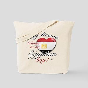 My heart belongs to an Egyptian boy Tote Bag