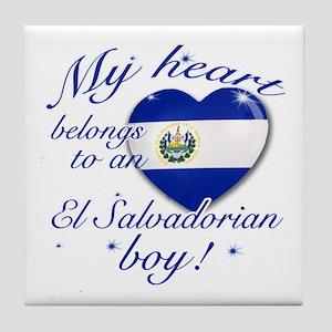 My heart belongs to an El Salvadorian boy Tile Coa