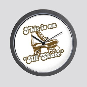This is an All Skate Wall Clock