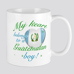 My heart belongs to a Guatemalan boy Mug